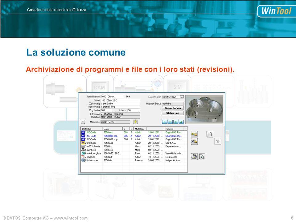WinTool La soluzione comune Integration und Vereinfachung