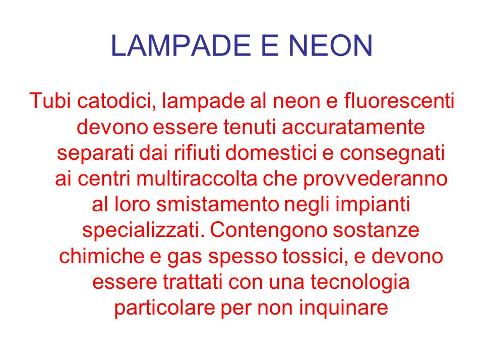 LAMPADE E NEON