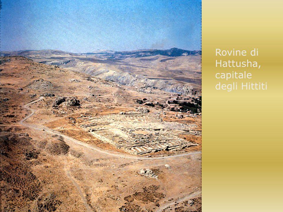 Rovine di Hattusha, capitale degli Hittiti