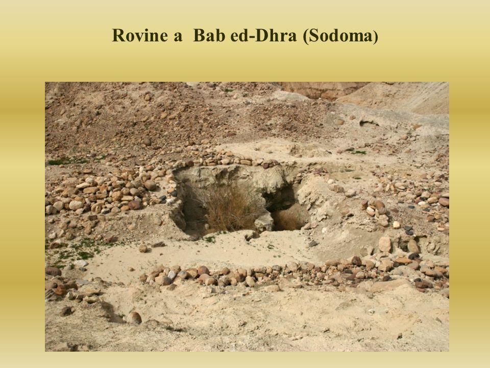 Rovine a Bab ed-Dhra (Sodoma)