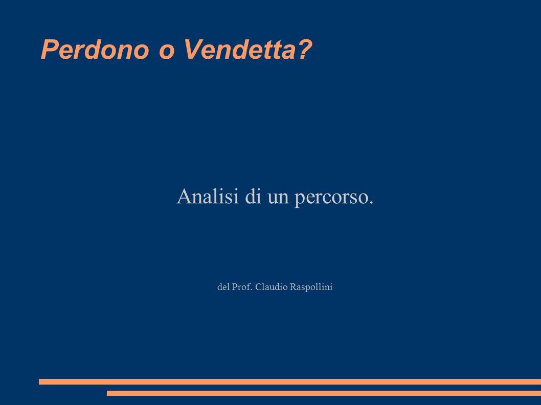 Analisi di un percorso. del Prof. Claudio Raspollini