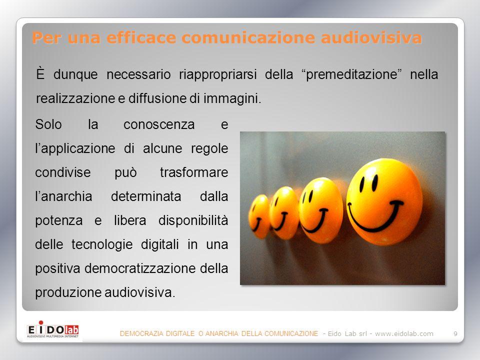 Per una efficace comunicazione audiovisiva