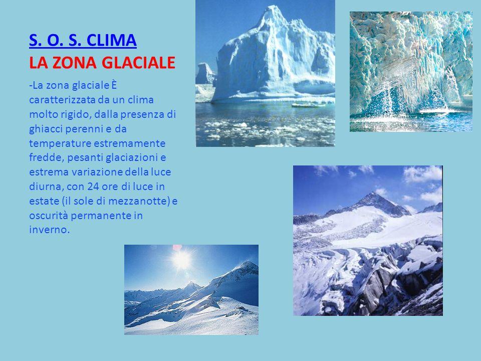S. O. S. CLIMA LA ZONA GLACIALE