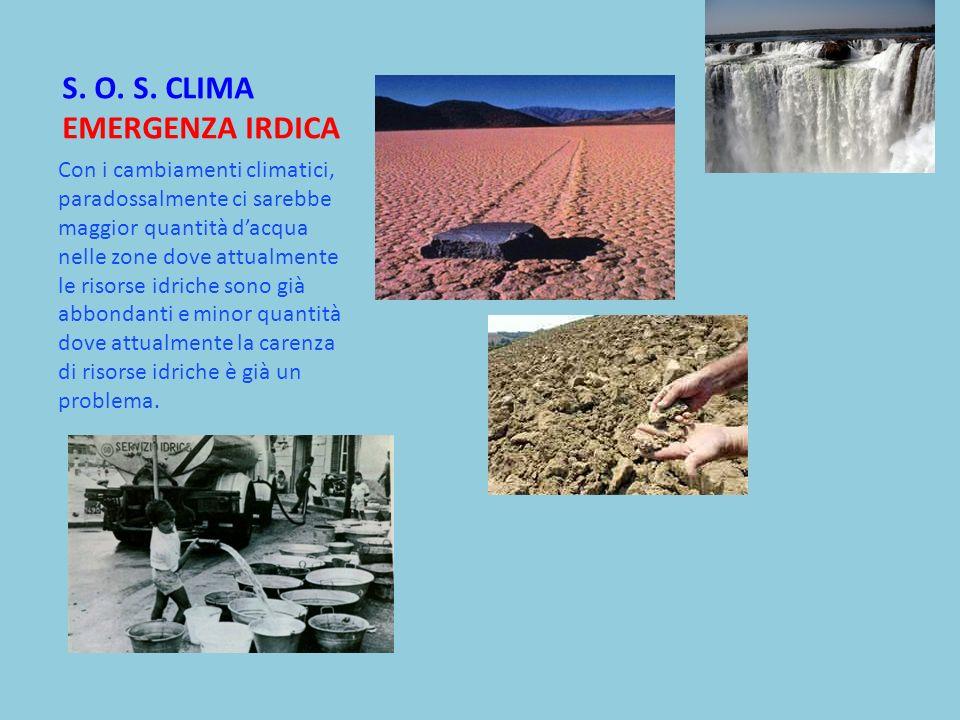 S. O. S. CLIMA EMERGENZA IRDICA