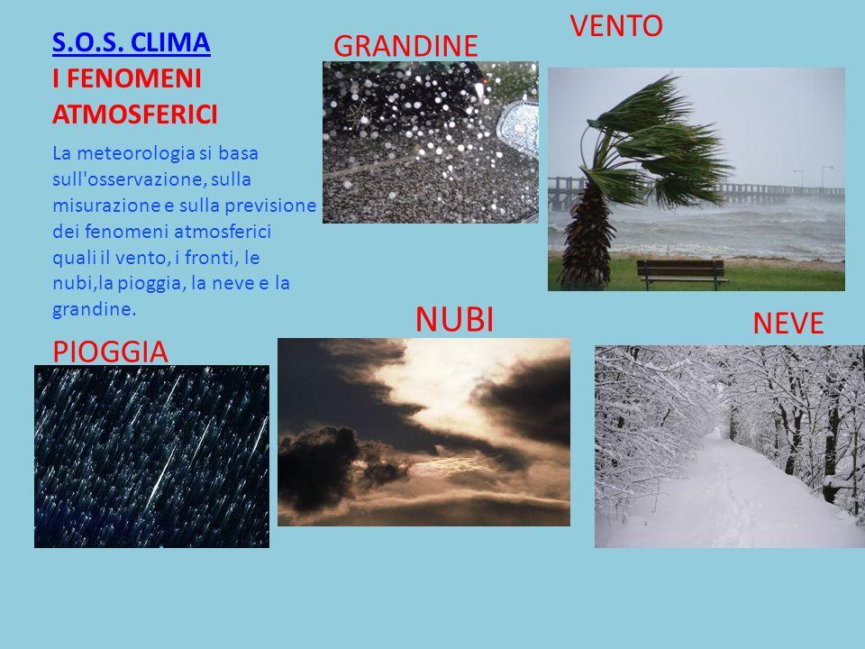 S.O.S. CLIMA I FENOMENI ATMOSFERICI