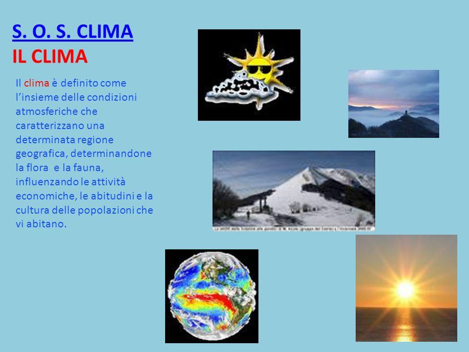 S. O. S. CLIMA IL CLIMA
