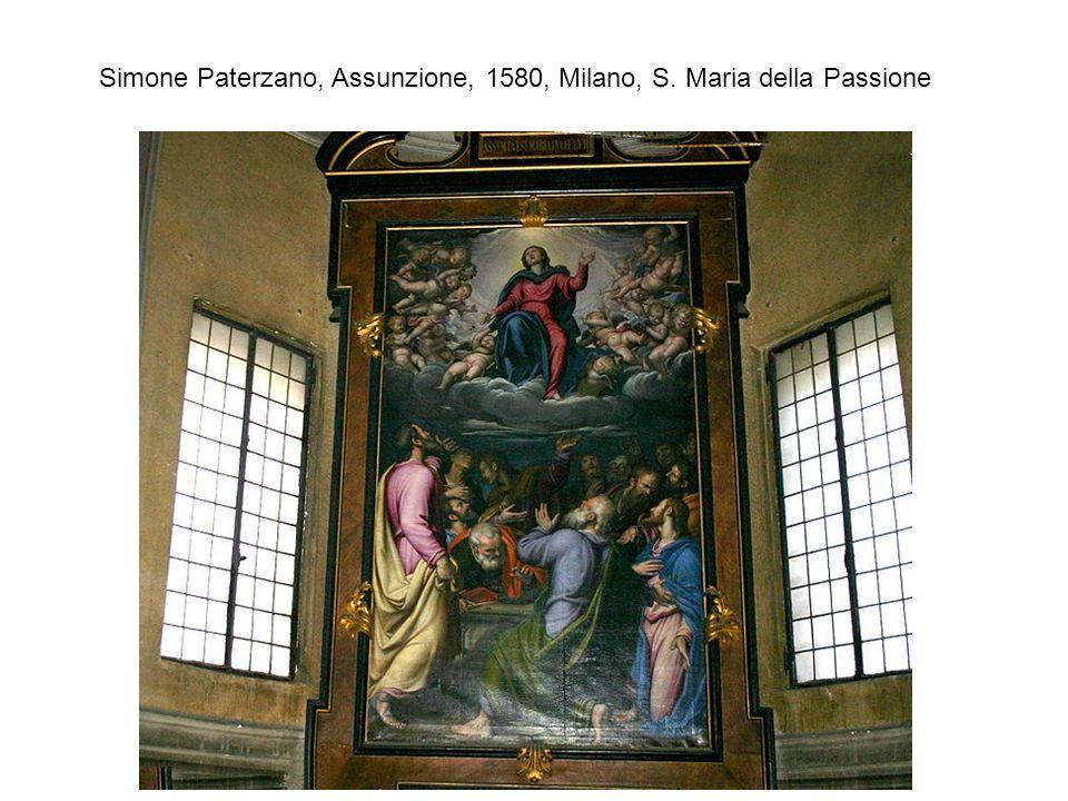 Simone Paterzano, Assunzione, 1580, Milano, S. Maria della Passione