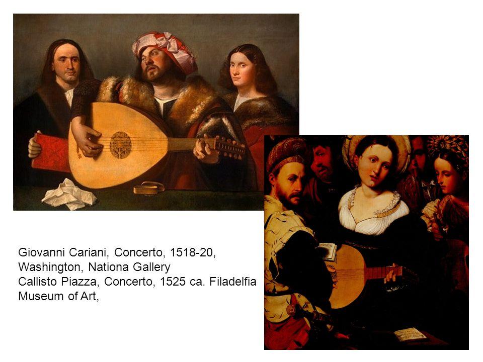 Giovanni Cariani, Concerto, 1518-20,
