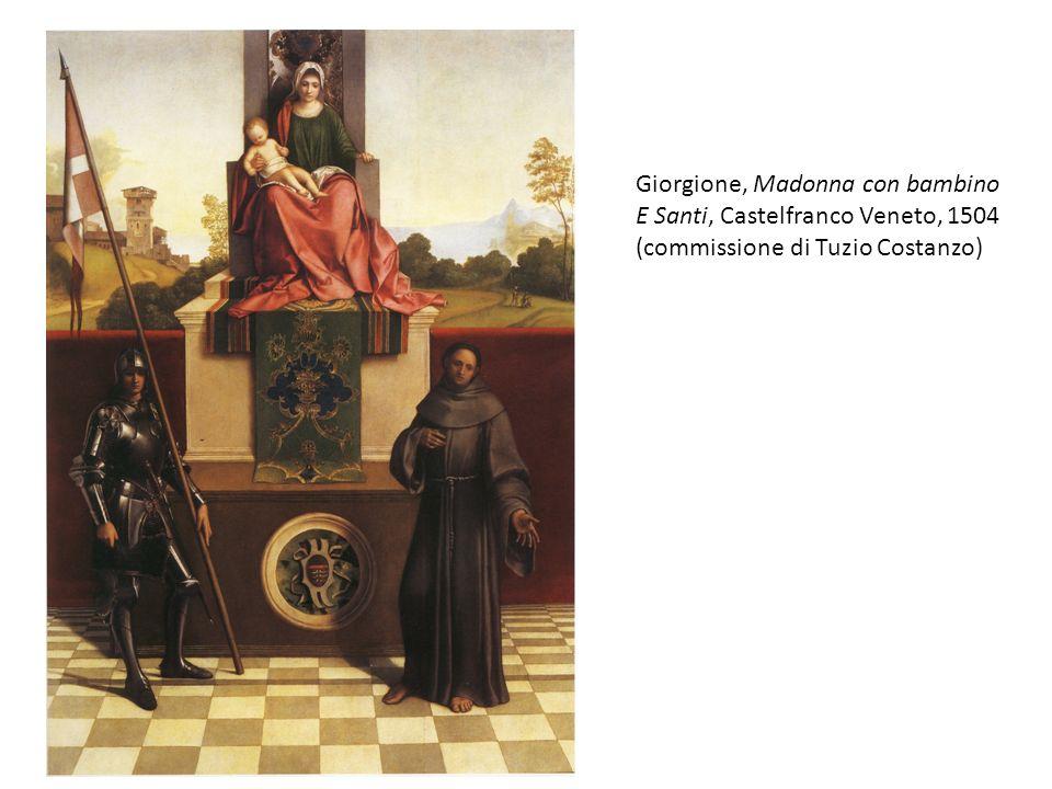 Giorgione, Madonna con bambino