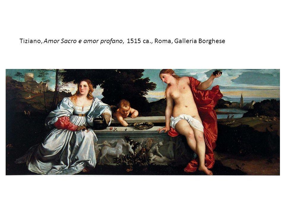 Tiziano, Amor Sacro e amor profano, 1515 ca., Roma, Galleria Borghese
