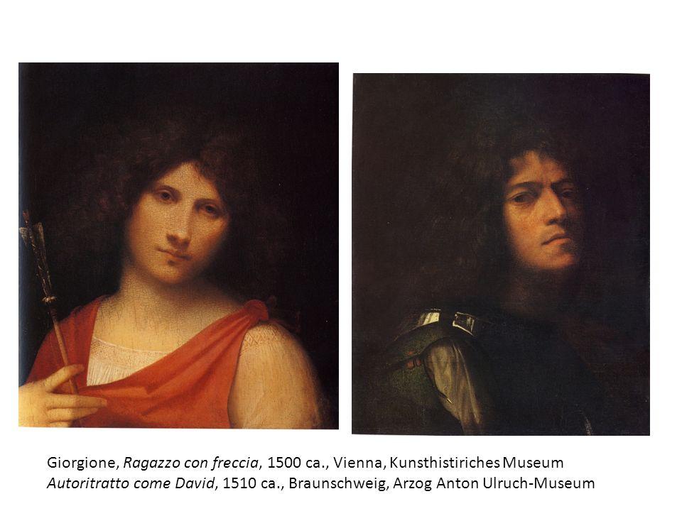 Giorgione, Ragazzo con freccia, 1500 ca