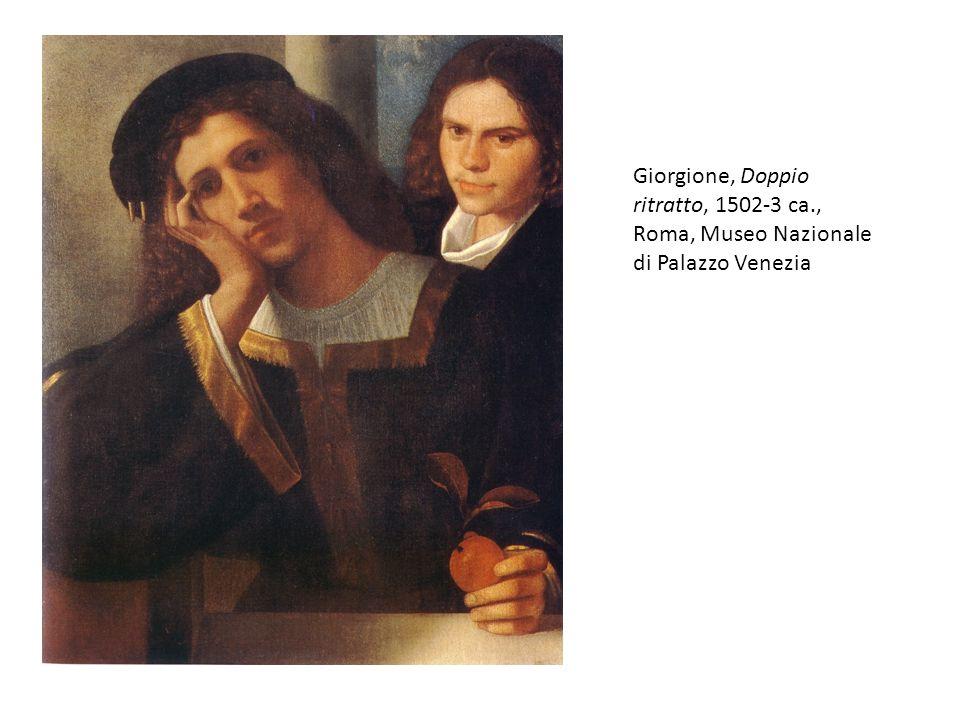 Giorgione, Doppio ritratto, 1502-3 ca.,