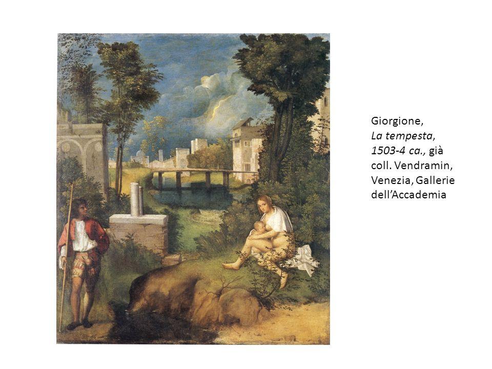 Giorgione, La tempesta, 1503-4 ca., già coll. Vendramin, Venezia, Gallerie dell'Accademia