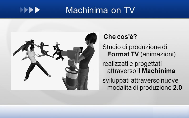Machinima on TV Che cos è