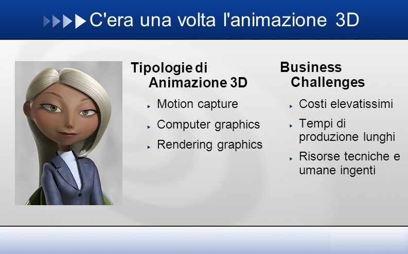 C era una volta l animazione 3D