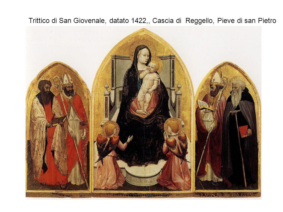 Trittico di San Giovenale, datato 1422,, Cascia di Reggello, Pieve di san Pietro