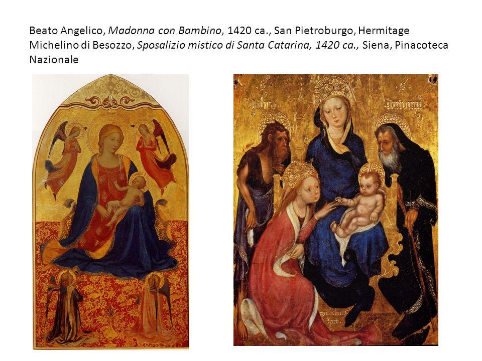Beato Angelico, Madonna con Bambino, 1420 ca