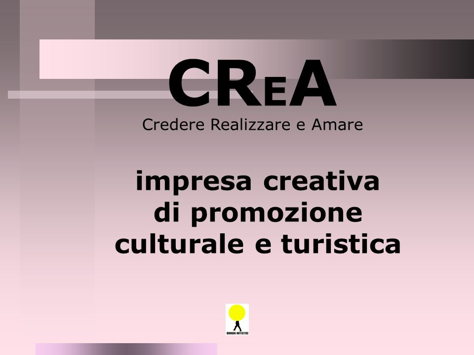 di promozione culturale e turistica