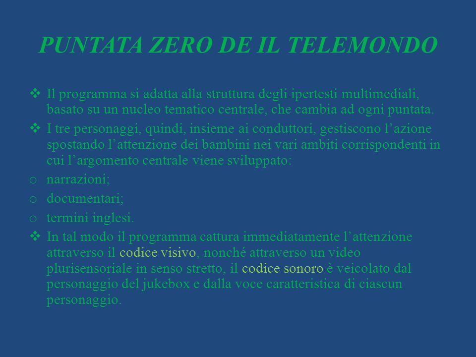 PUNTATA ZERO DE IL TELEMONDO