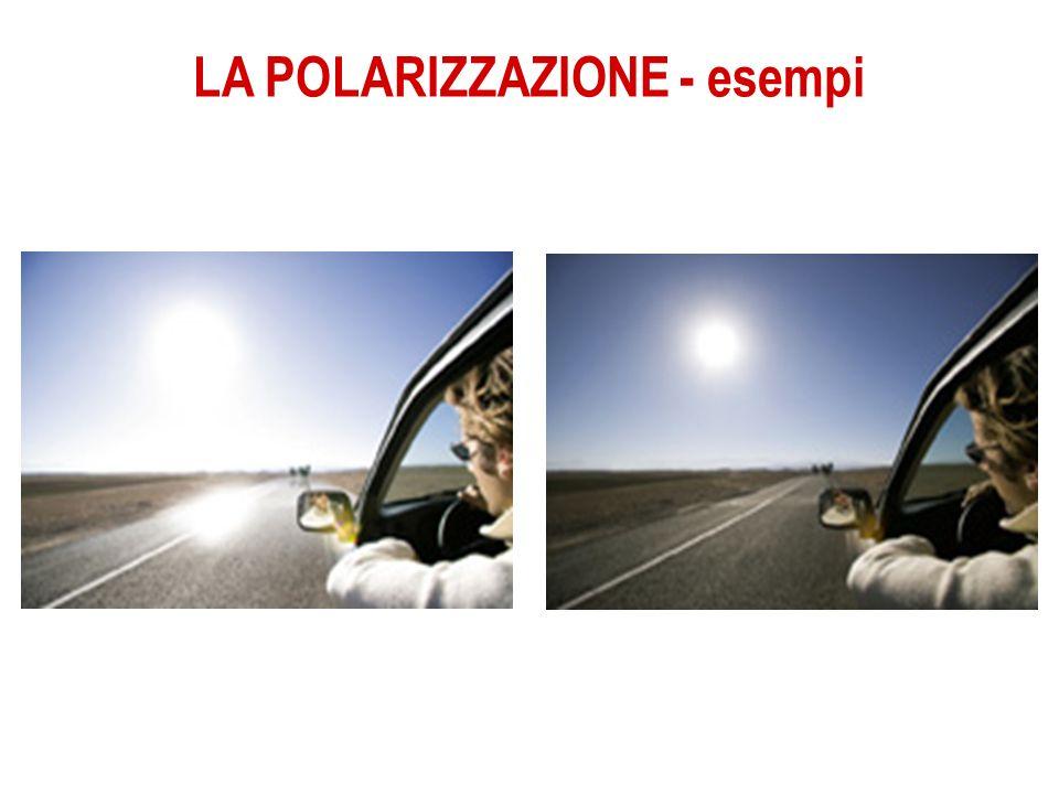 LA POLARIZZAZIONE - esempi