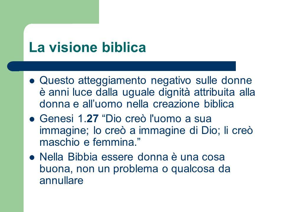 La visione biblica