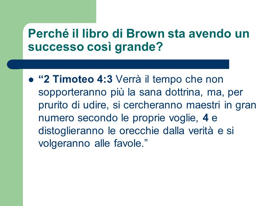Perché il libro di Brown sta avendo un successo così grande