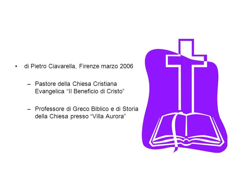 di Pietro Ciavarella, Firenze marzo 2006