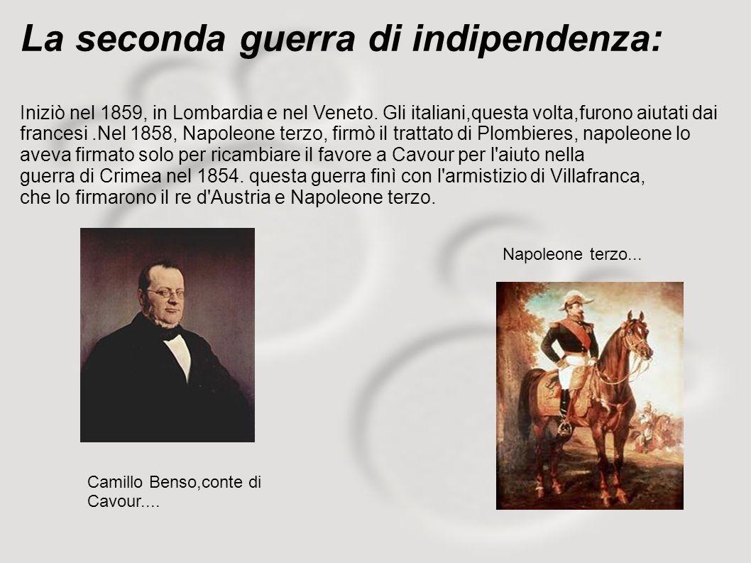 La seconda guerra di indipendenza: