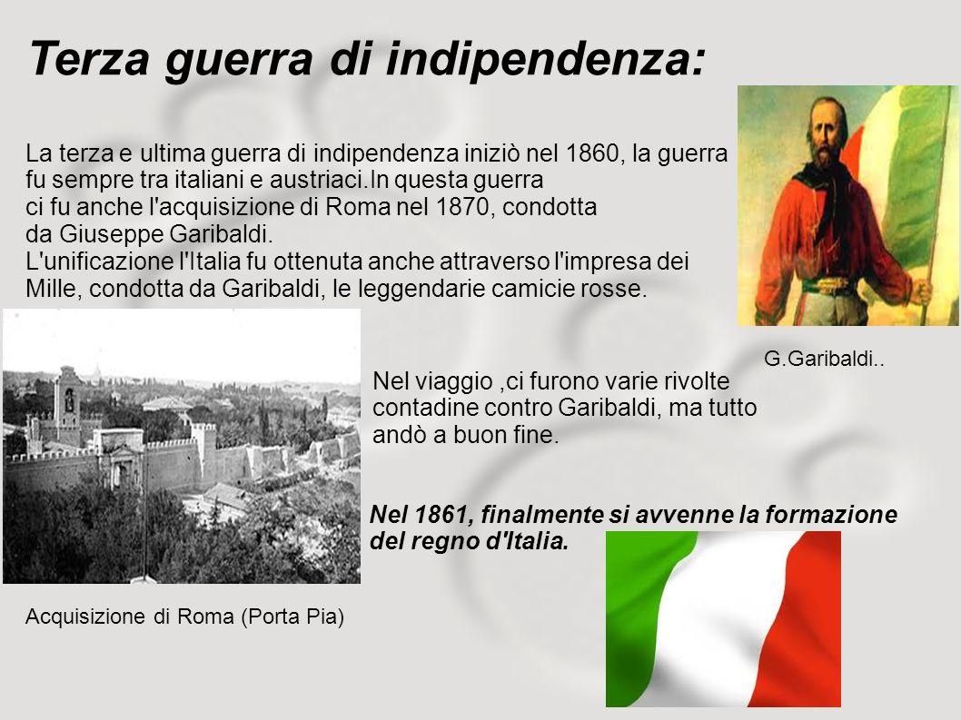 Terza guerra di indipendenza: