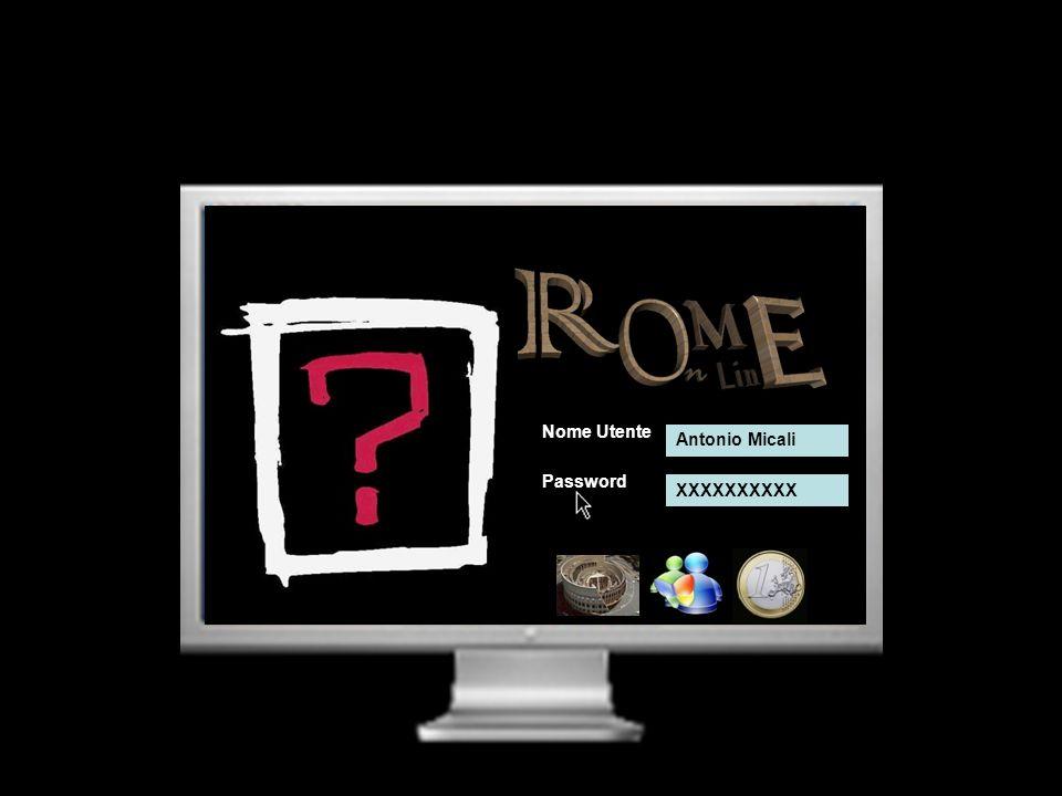 Nome Utente Antonio Micali Password XXXXXXXXXX