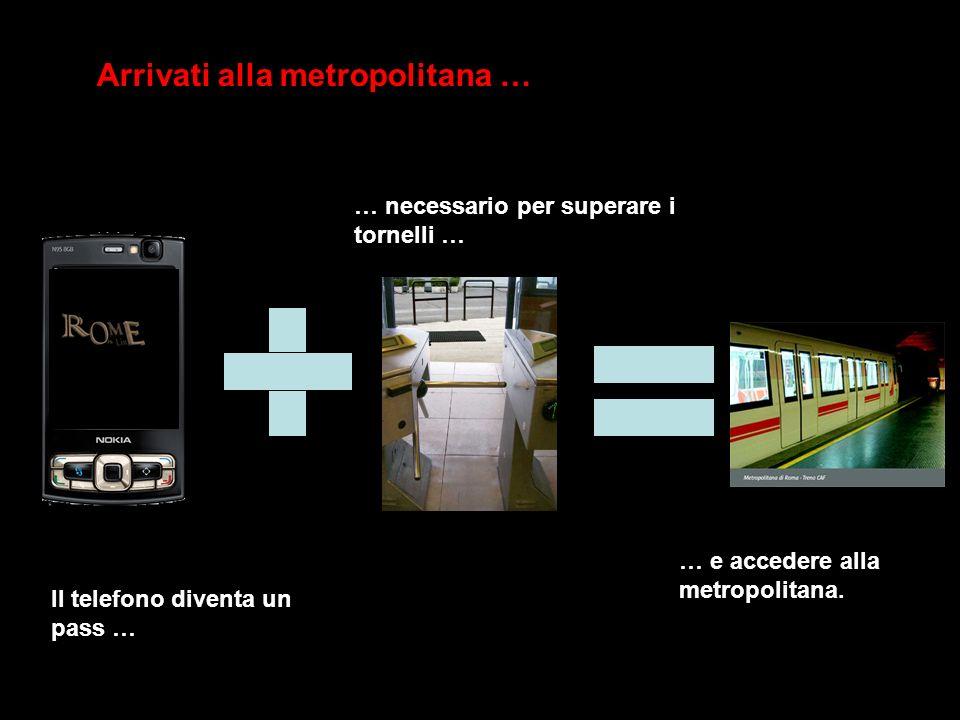 Arrivati alla metropolitana …