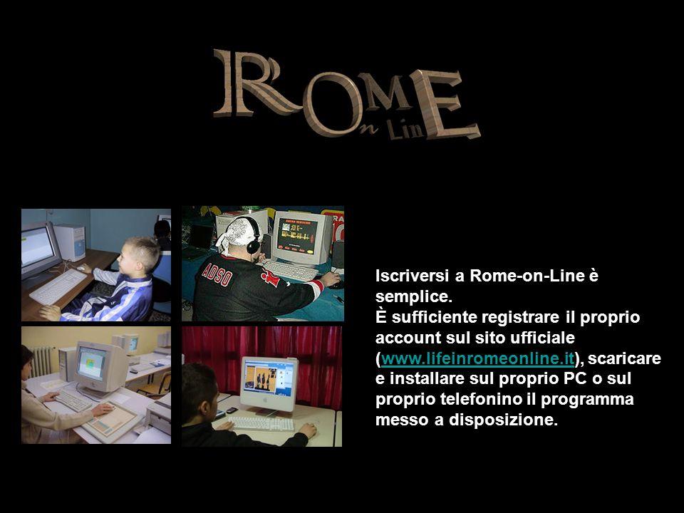 Iscriversi a Rome-on-Line è semplice.