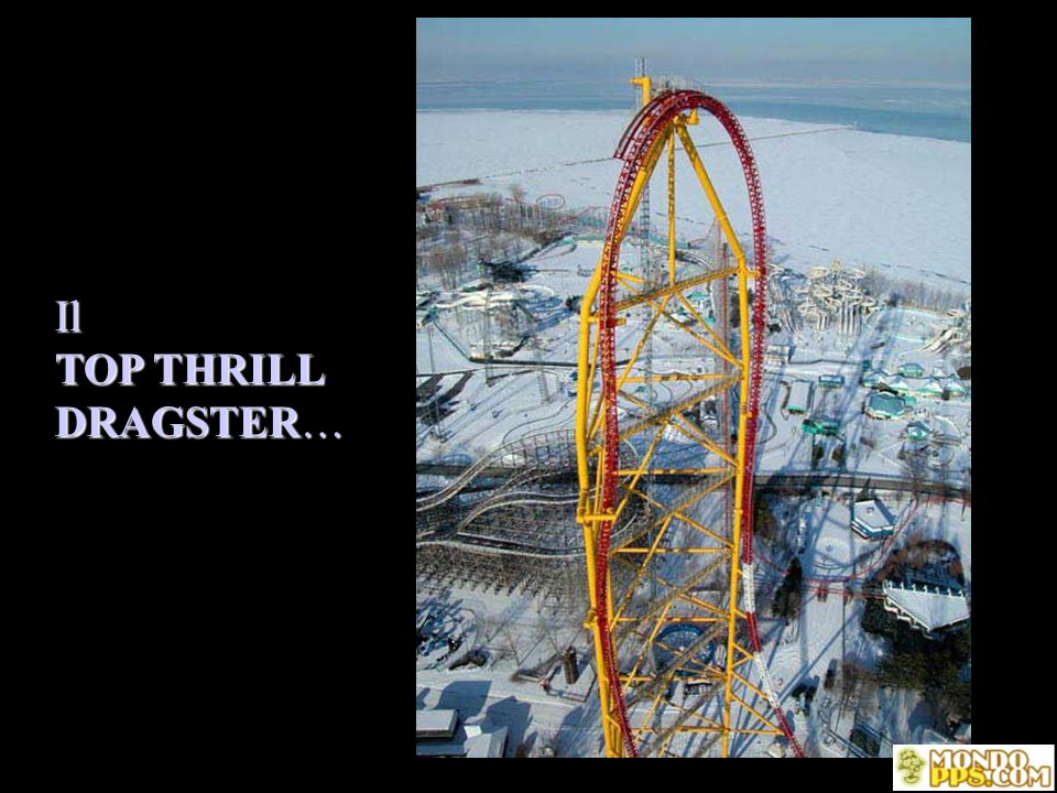 Il TOP THRILL DRAGSTER…
