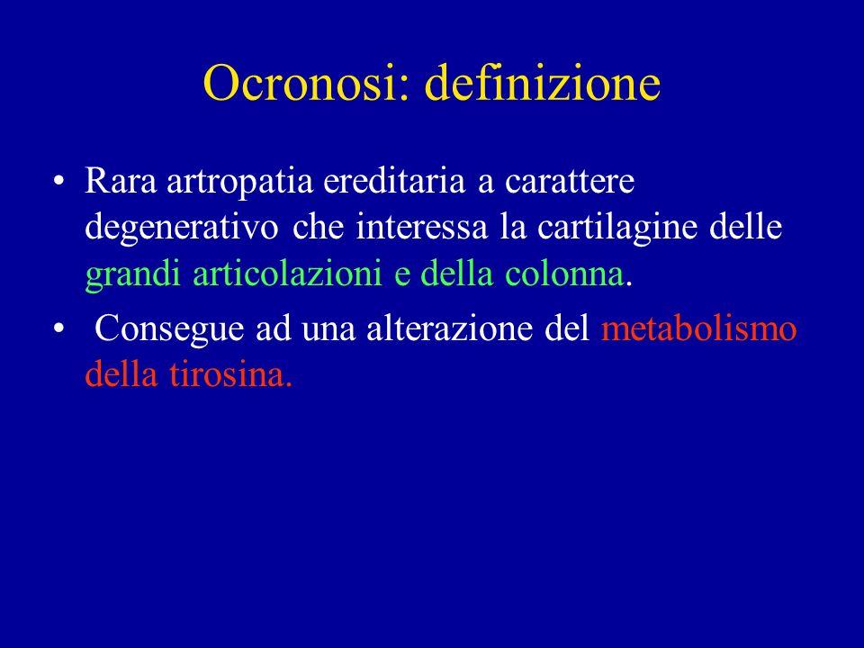 Ocronosi: definizione