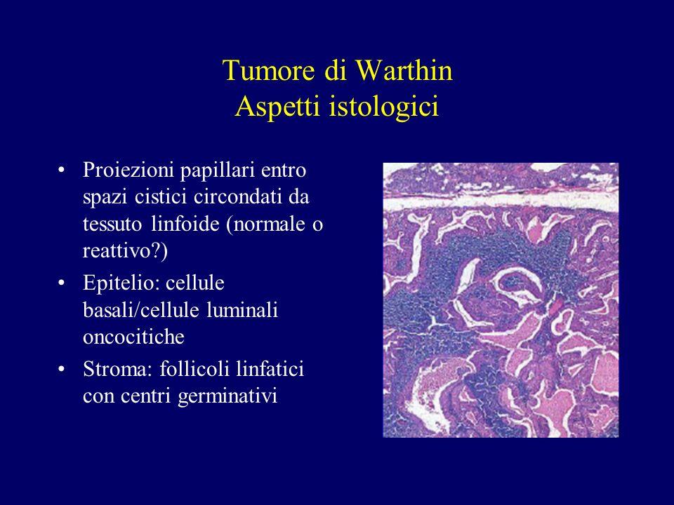 Tumore di Warthin Aspetti istologici