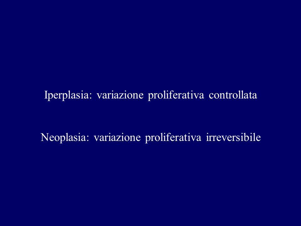Iperplasia: variazione proliferativa controllata