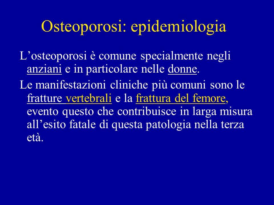 Osteoporosi: epidemiologia