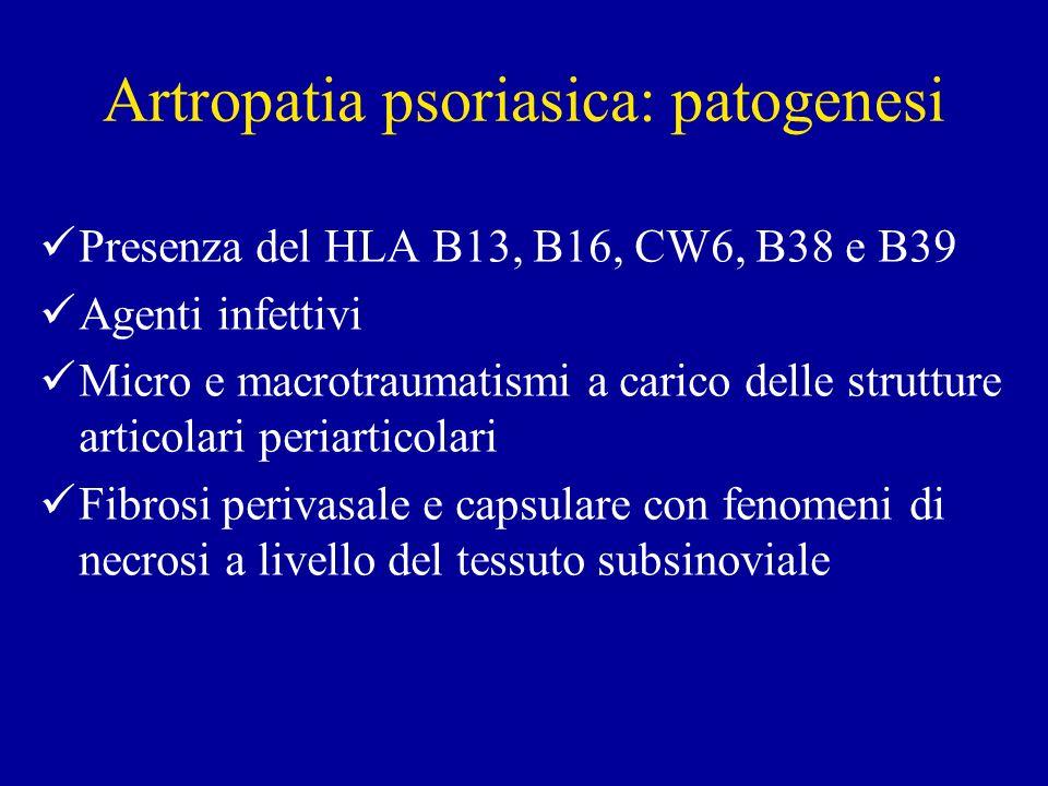 Artropatia psoriasica: patogenesi