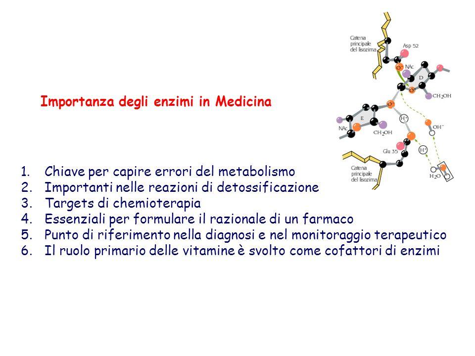 Importanza degli enzimi in Medicina