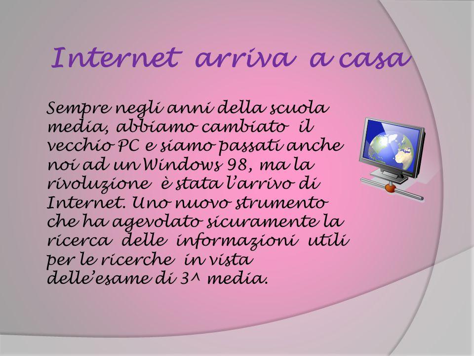 Internet arriva a casa