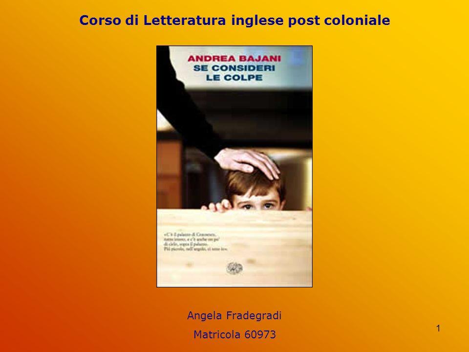 Corso di Letteratura inglese post coloniale