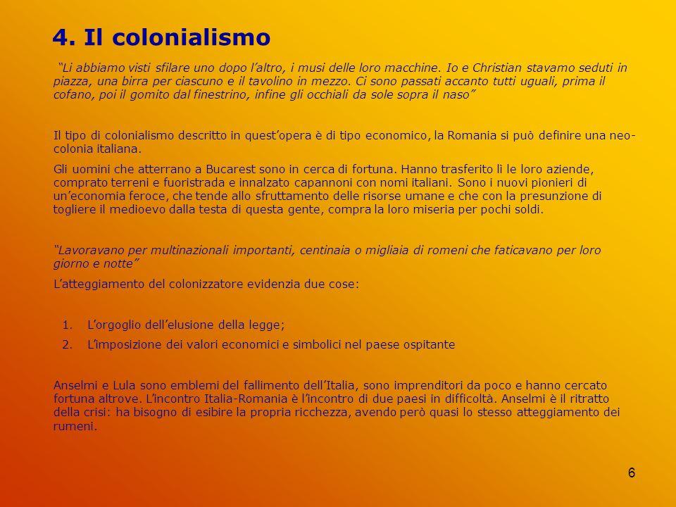 4. Il colonialismo