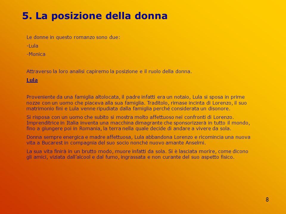 5. La posizione della donna