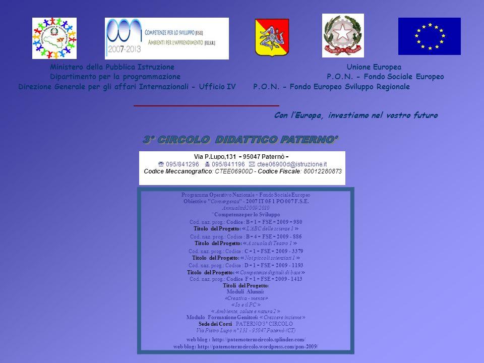 web blog: http://paternoterzocircolo.wordpress.com/pon-2009/