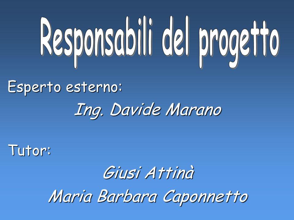 Responsabili del progetto