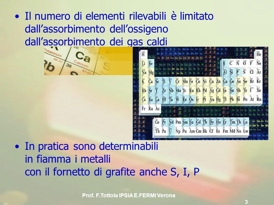 Prof. F.Tottola IPSIA E.FERMI Verona 3