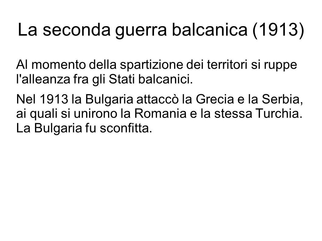 La seconda guerra balcanica (1913)