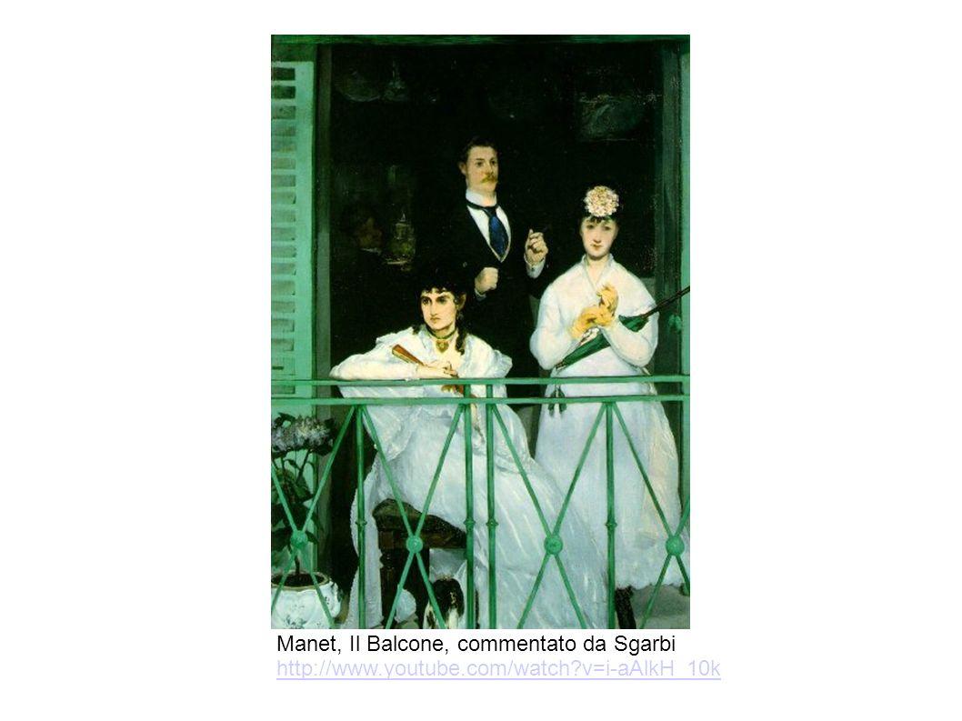 Manet, Il Balcone, commentato da Sgarbi http://www. youtube. com/watch