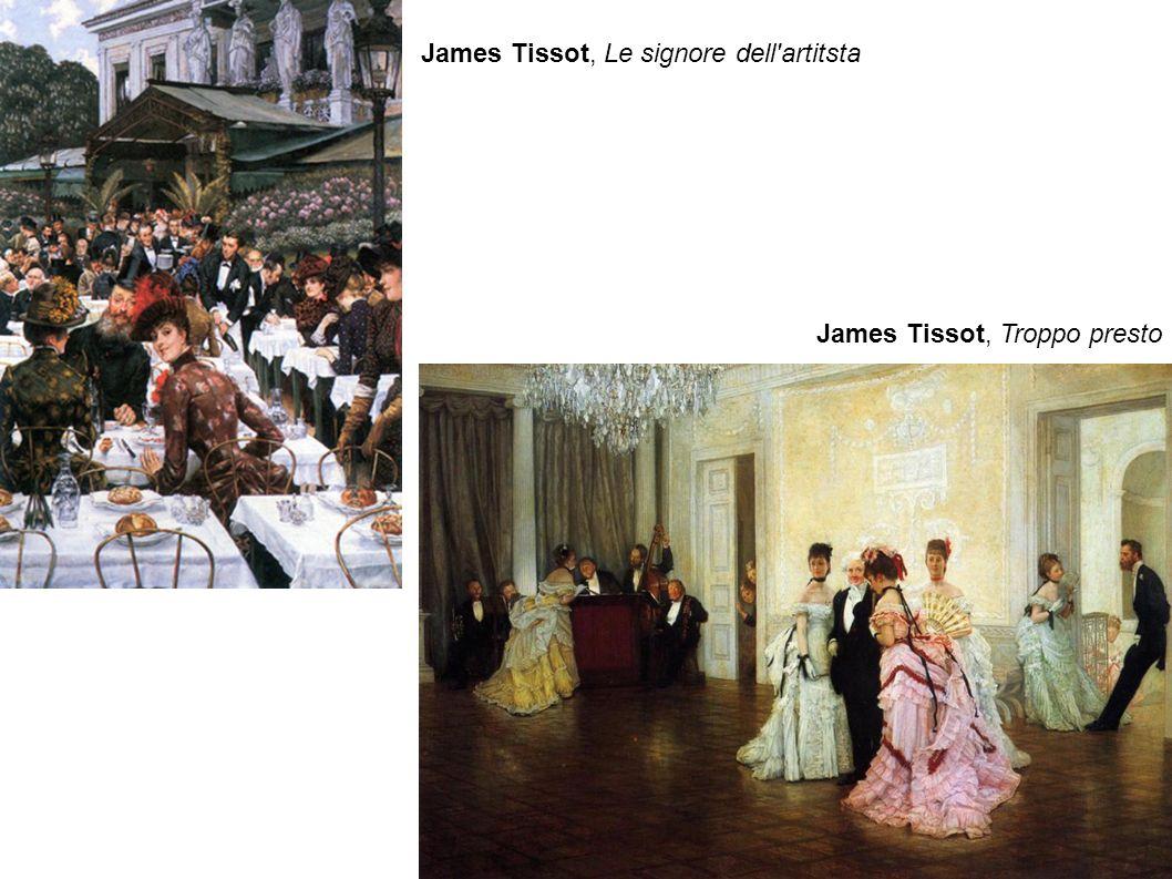 James Tissot, Le signore dell artitsta