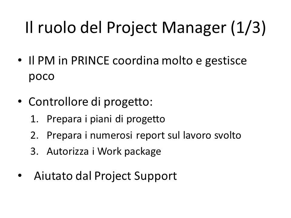 Il ruolo del Project Manager (1/3)